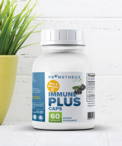 Immune Plus w/Elderberry, Garlic, Echinacea, Vitamin C + Zinc