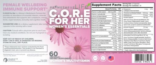 Women's Multivitamin – C.O.R.E for Her
