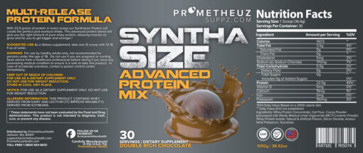 SYNTHA SIZE – Double Rich Chocolate