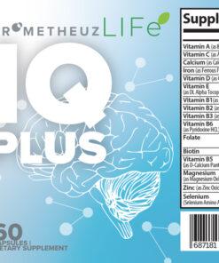 IQ Plus – Brain and focus formula