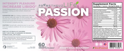 PASSION – Female Enhancement